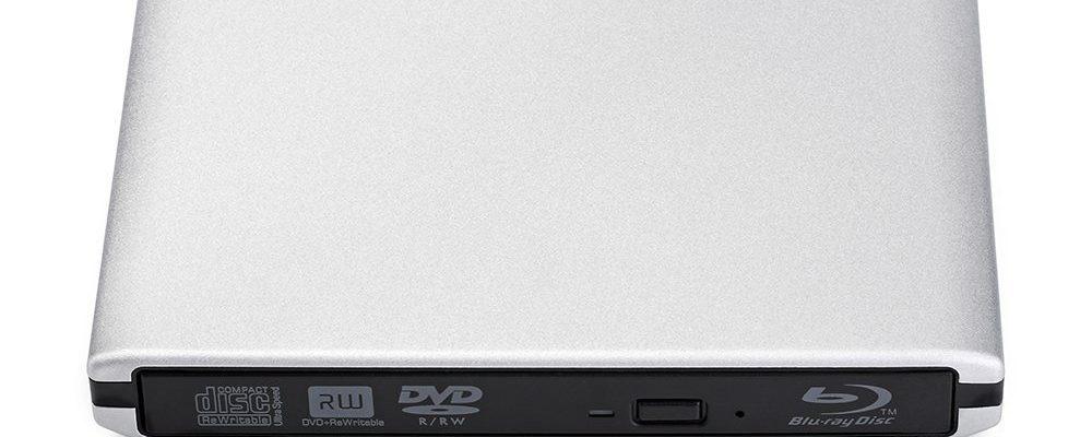 Grabadora portátil de Blu-Ray, CD / DVD
