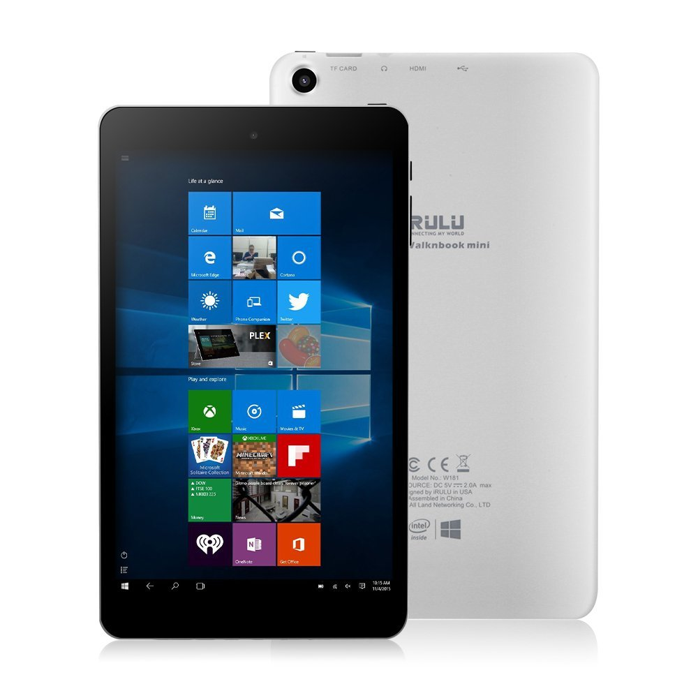 Tablet Dual Windows 10 y Android 5.1, Quad Core