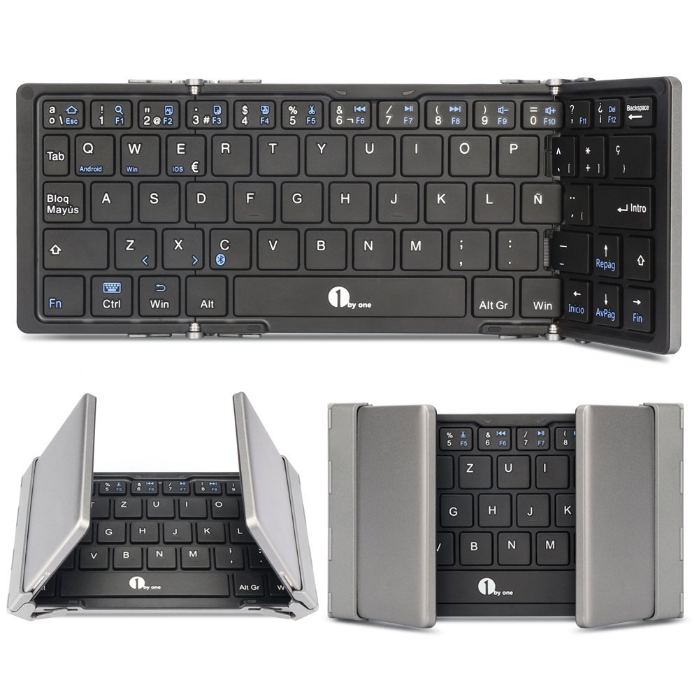 Teclado bluetooth 3.0 inalámbrico con Multi-touchpad 52