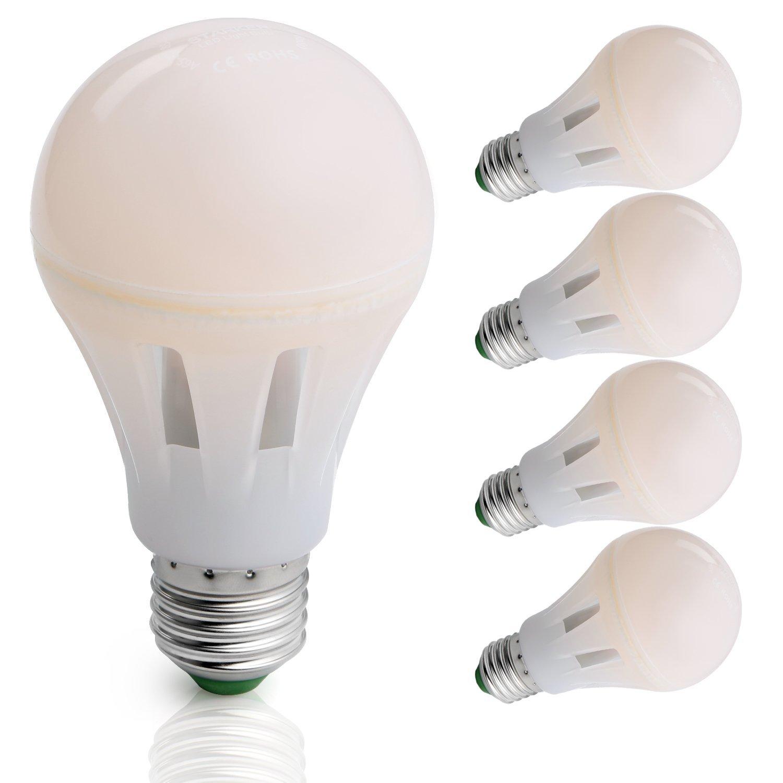 MENGS® Pack de 4 Bombillas LED E27 50