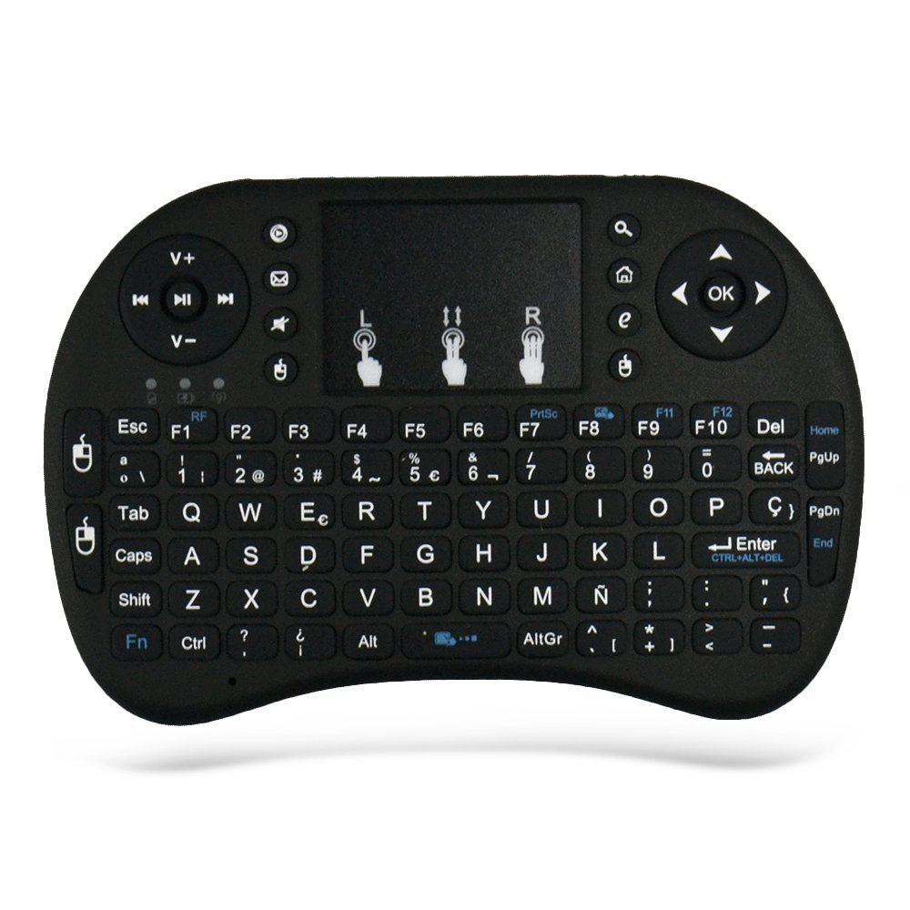 Teclado bluetooth 3.0 inalámbrico con Multi-touchpad 51