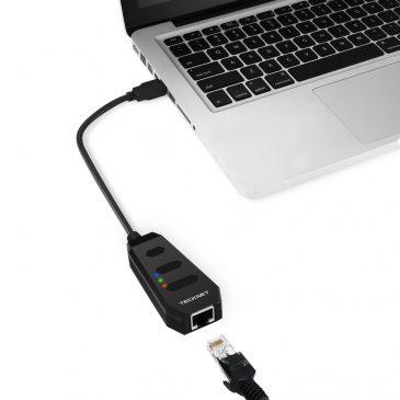 Adaptador USB Gigabits Ethernet LAN