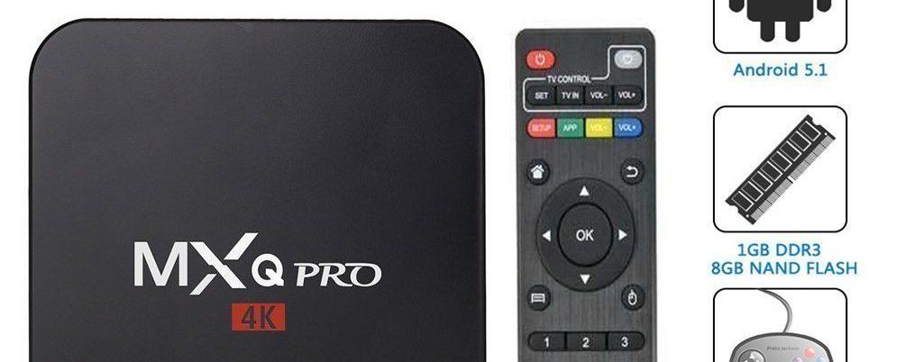 TV Box MXQ PRO (S905) Android para tu televisor