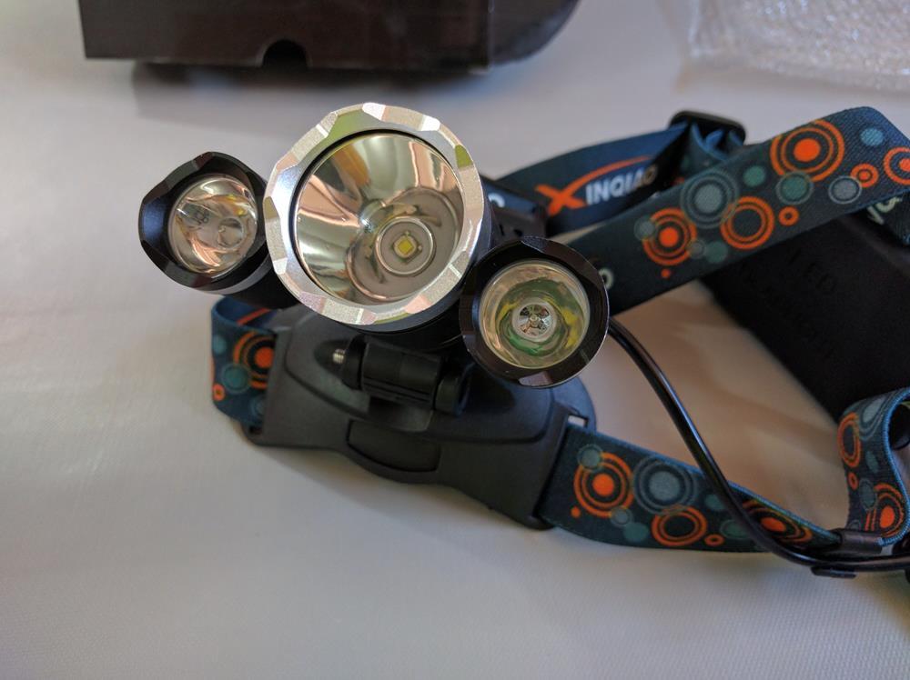Ultra-Brillante LED Linterna Frontal de Cabeza De Alta Potencia (3)