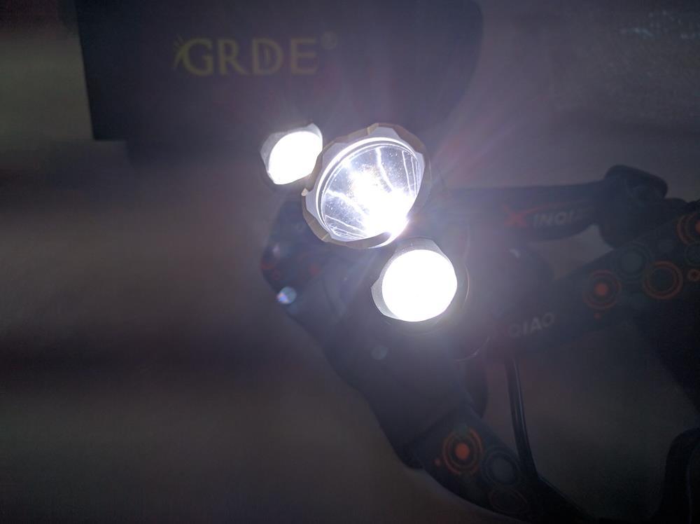 Ultra-Brillante LED Linterna Frontal de Cabeza De Alta Potencia (6)