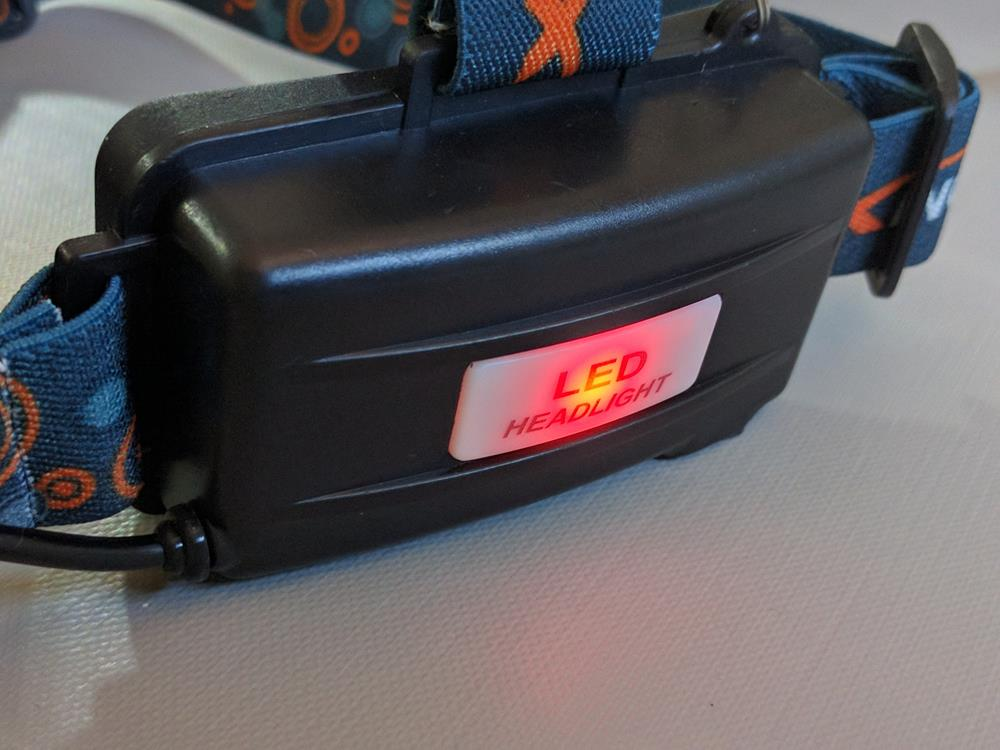 Ultra-Brillante LED Linterna Frontal de Cabeza De Alta Potencia (8)