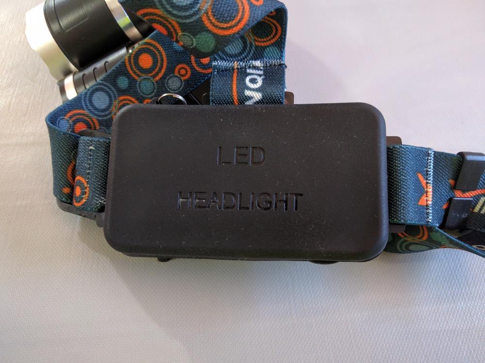 Ultra-Brillante LED Linterna Frontal de Cabeza De Alta Potencia (9)