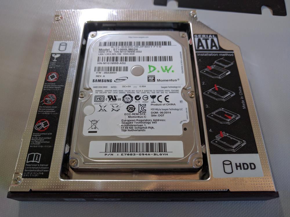 Zacro SATA HDD HD SATA segundo 2.5 '' (7)