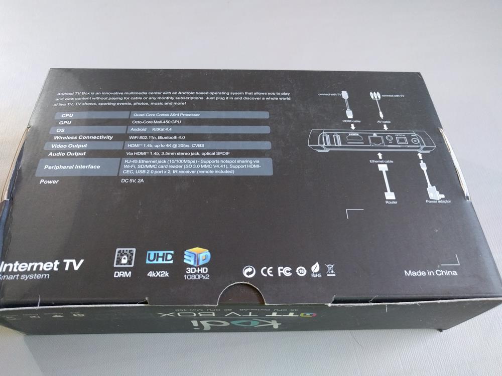 Zenoplige M8S Pro Android 2G16G Smart TV Box Amlogic S812 EMMC Quad Core (3)