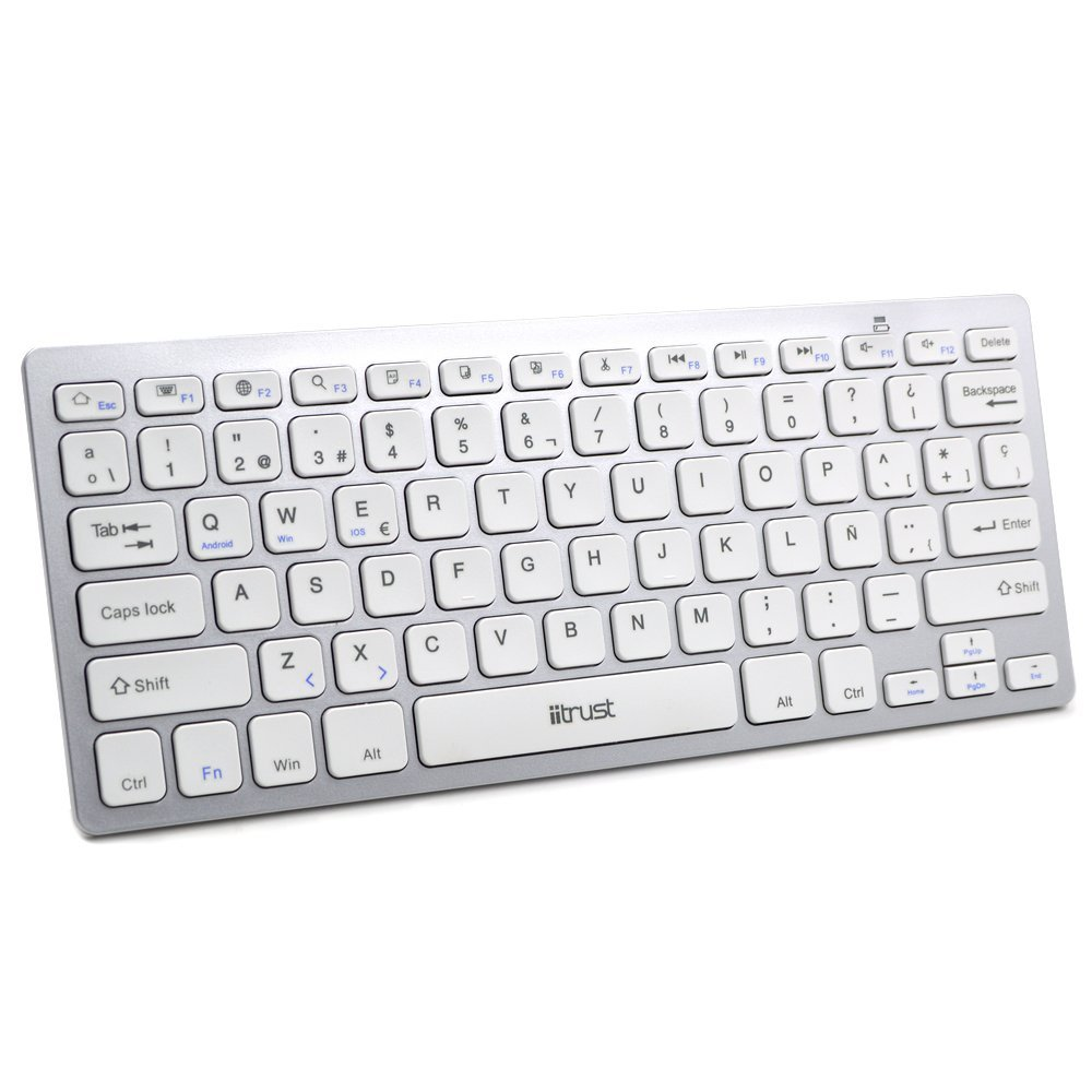 iitrust HB098 Mini Teclado inalámbrico Bluetooth