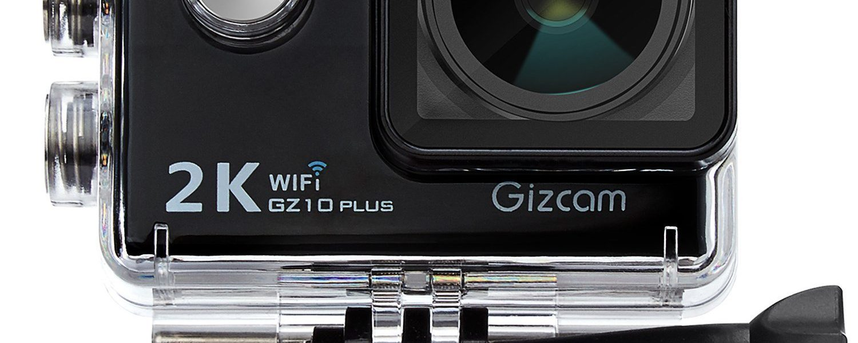 Gizcam GZ10 Plus Cámara Deportiva Sumergible 2K
