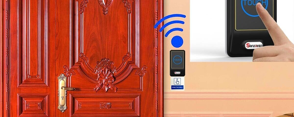 Safebao Wireless Doorbell Timbre Campana de Inalámbrico