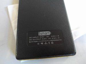Batería externa VIVIS 20.000mAh