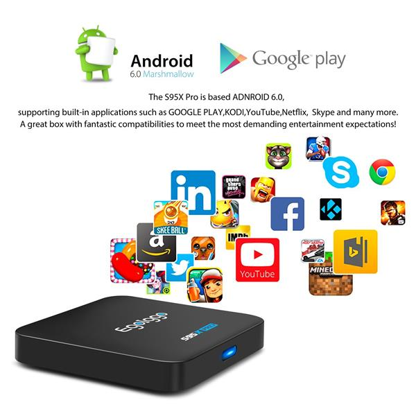 Android TV S95X Pro