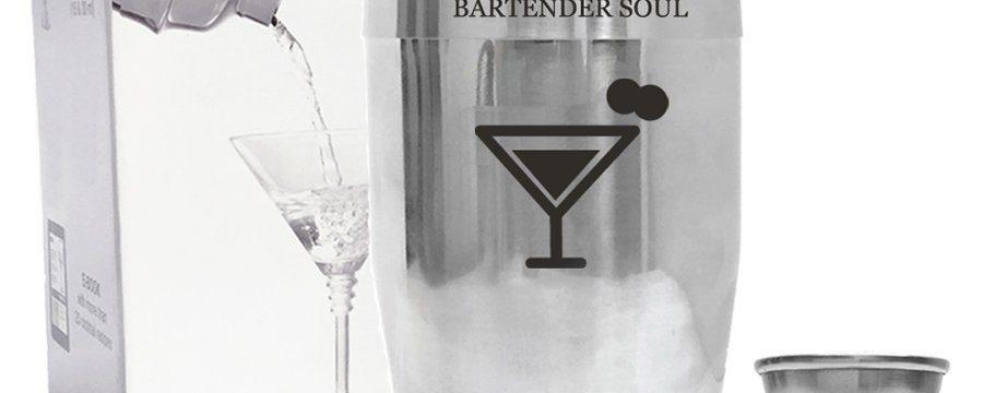 Coctelera profesional de Bartender Soul