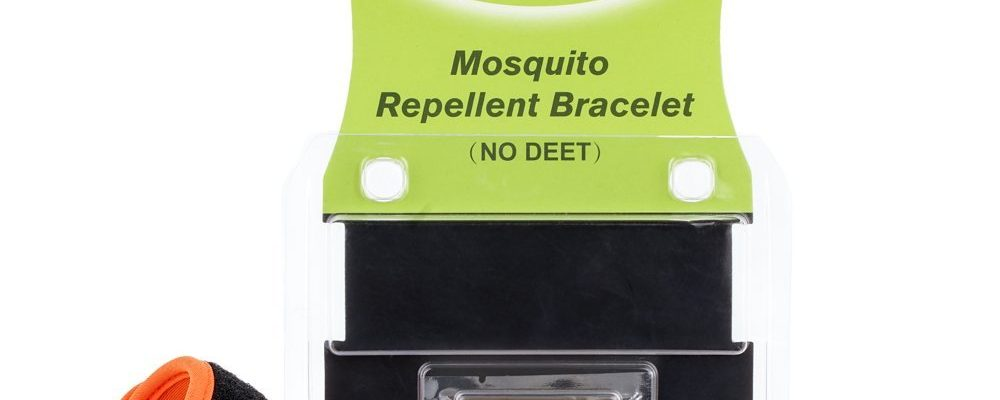 Pulsera repelente contra mosquitos
