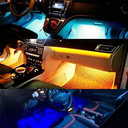 iluminaci n led interior para coche review4bits. Black Bedroom Furniture Sets. Home Design Ideas