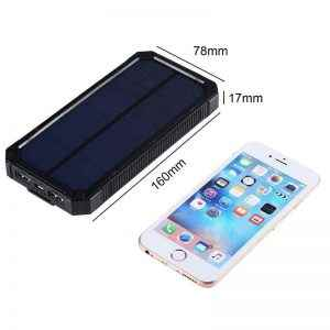 Batería solar 15000 mAh