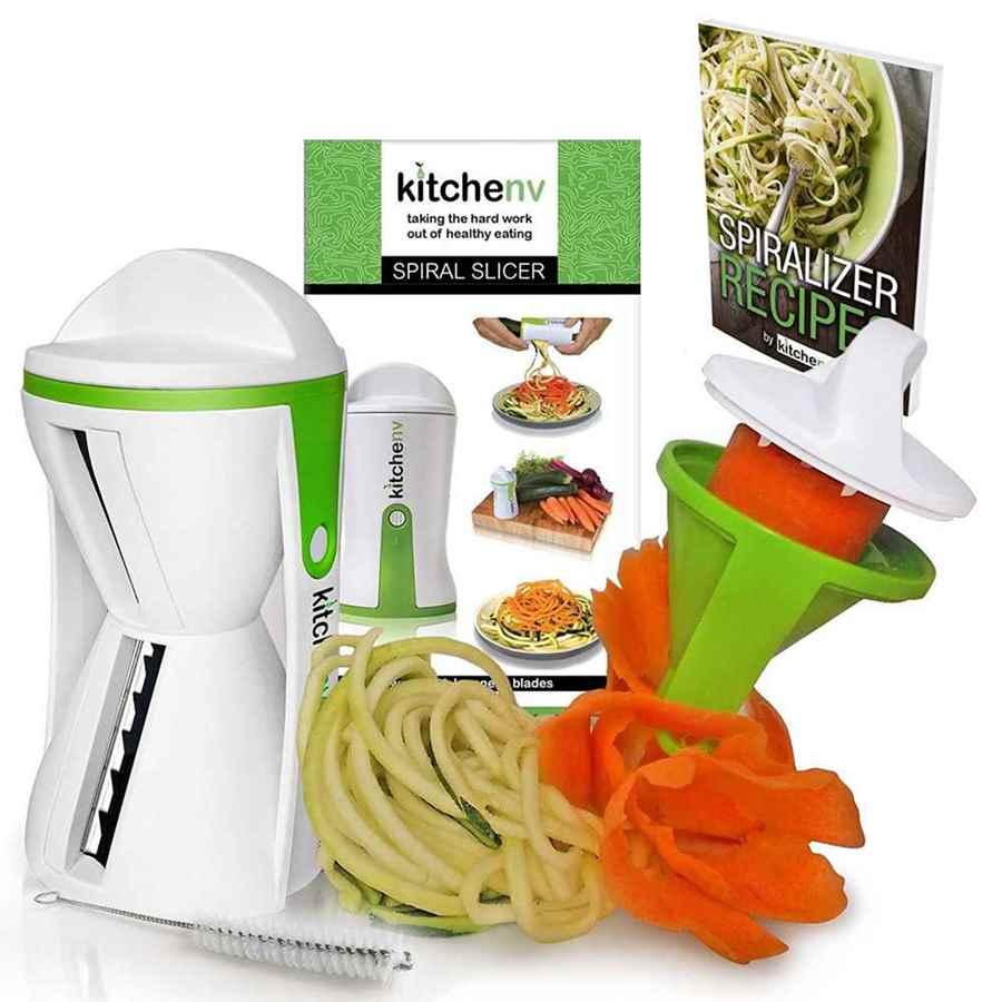 Cortador de verduras en espiral Modelo KNV001