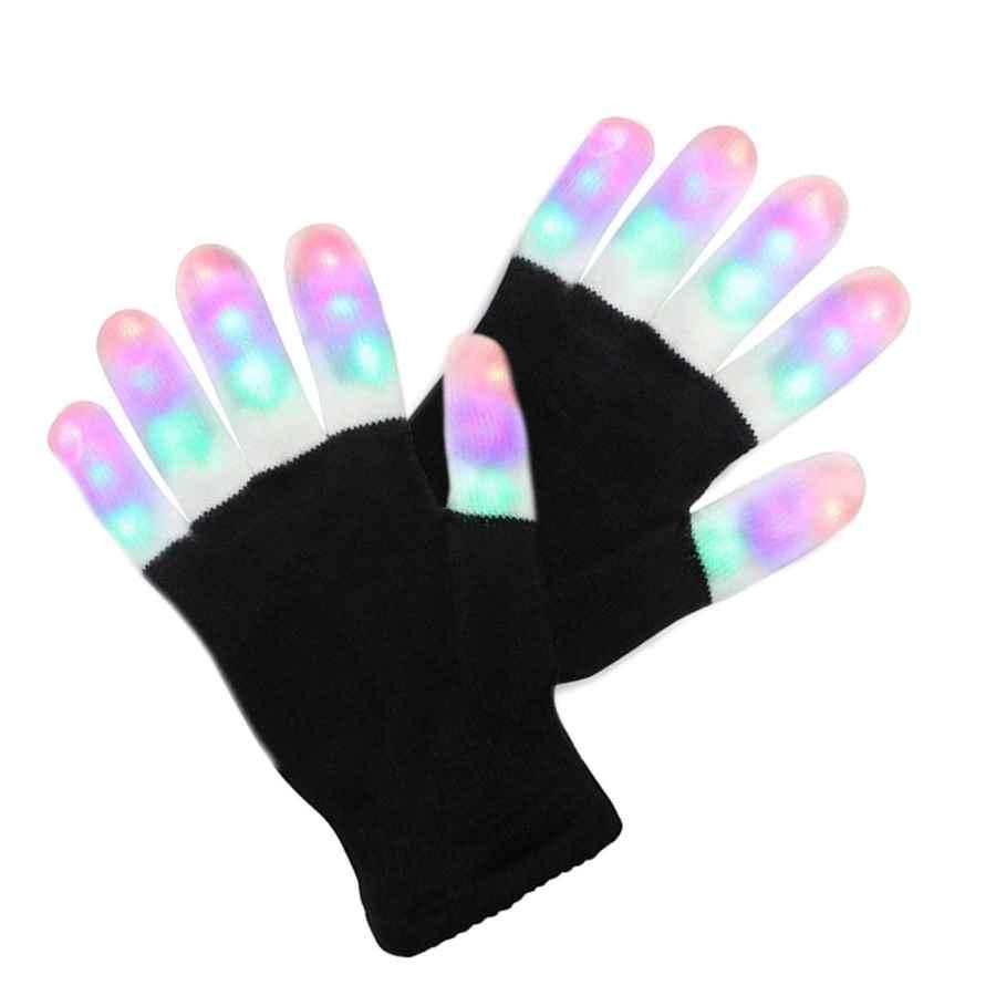Guantes de huellas de gato, guantes sin dedos 44