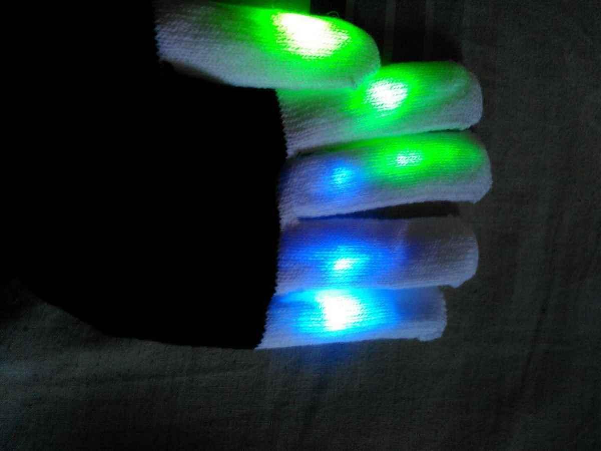 Guantes LED