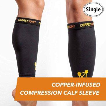 Pantorrilla deportiva mediante compresión CopperJoint