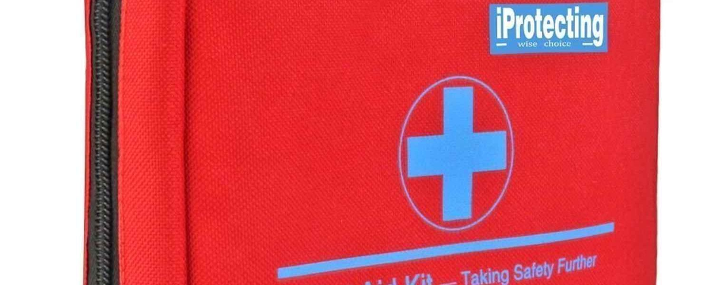 Botiquín primeros auxilios, bolsa para emergencias