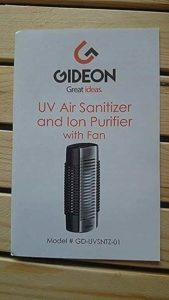 Purificador de Aire Electrónico de Enchufe con Sanitizante de Aire UV