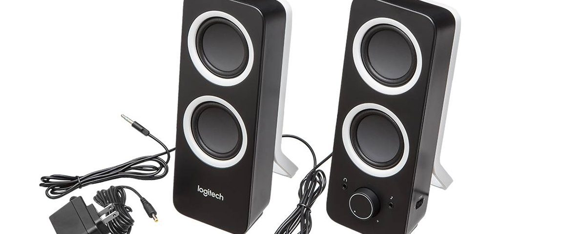 Logitech Z200 – Altavoces 2.0 para PC, color negro