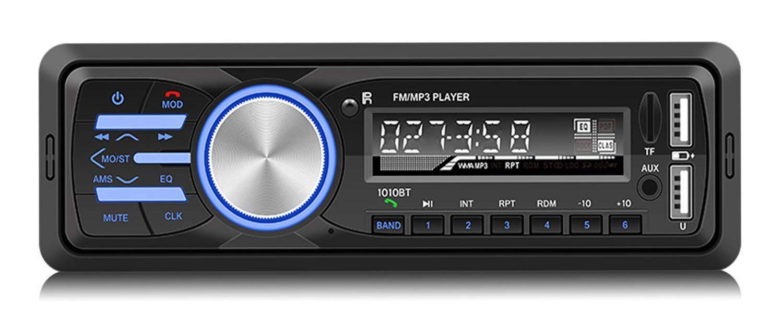 Radio de Coche Rixow, Reproductor Estéreo Bluetooth