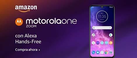 Motorola One, Tu Smartphone con Alexa
