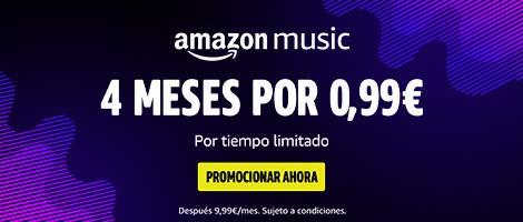Amazon Prime Music, 4 meses por 0,99 €