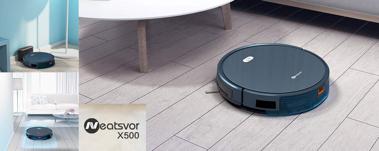 Robot Aspirador NEATSVOR X500. Conga y Roomba están temblando.