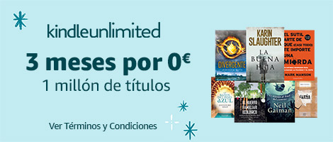 Amazon Kindle Unlimited, 3 meses por 0 €