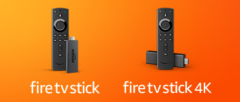 Fire TV Stick y Fire TV Stick 4K