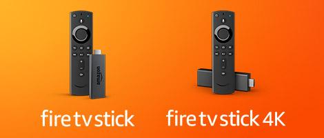 Fire TV Stick y Fire TV Stick 4K
